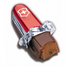 Gysi Victorinox Swiss Chocolate Swiss Army Knife 28g